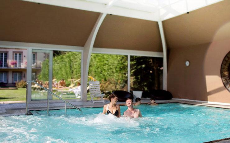 H tel piscine alsace le clos des d lices 4 toiles ottrott for Piscine yerres